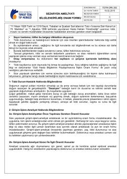 TOTM-OFR-393 Sezaryen Ameliyatı Bilgilendirilmiş Onam Formu2