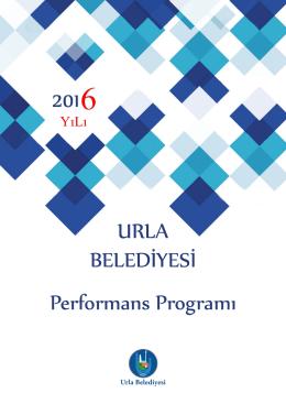 Performans Programı 2016