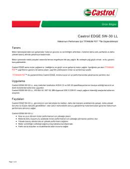 Castrol EDGE 5W-30 LL - Castrol