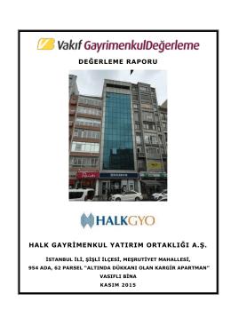 İstanbul Şişli Bina (Kasım 2015)