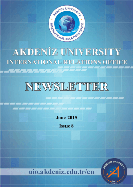 June 2015 Issue 8