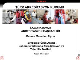Osman Muzaffer AFYON - uluslararası katılımlı 2. ulusal biyosidal
