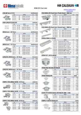 27-2015 MESA teknik plastik