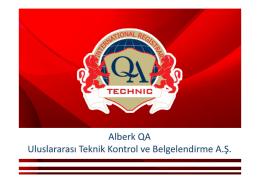 QA Technic Sunum