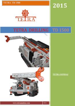 tetra td 1500 - TETRA MAKİNE
