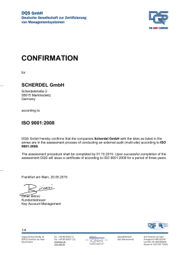 Gesamt ISO 9001 Englisch