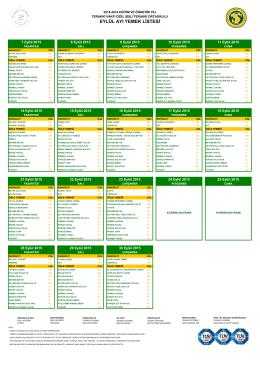 eylül ayı yemek listesi