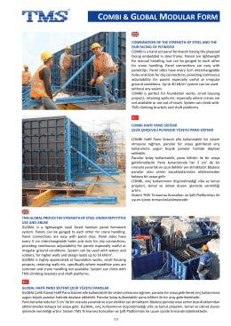 combı & global modular form - TMS Formwork & Scaffolding Systems