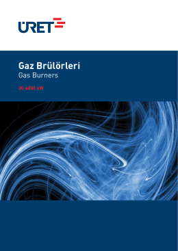 Gaz Brülörleri - AKG Engineering