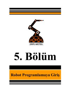 Robot Programlamaya Giriş - Erpe
