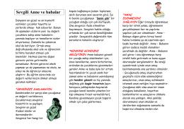 Velilere Yönelik Rehberlik Dökümanları - ALTINDAĞ