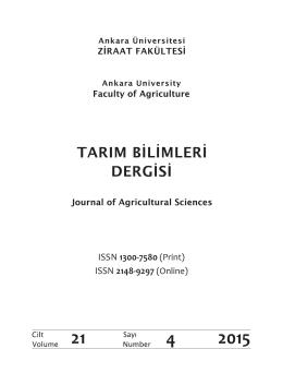 İç Kapak Sayfaları ve Editörler Kurulu