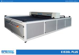 E1530L Plus - Lazer Kesim Makinesi