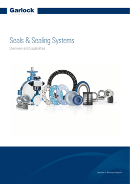 Seals & Sealing Systems