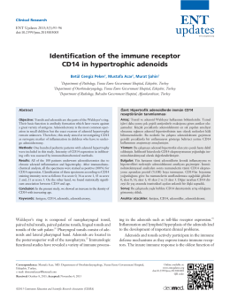 Identification of the immune receptor CD14 in