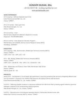 see my CV in PDF