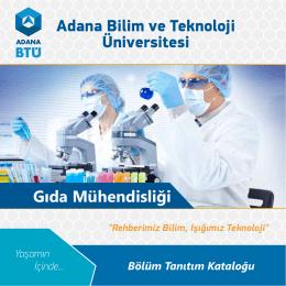 Adana Bilim ve Teknoloji Üniversitesi Gıda Mühendisliği