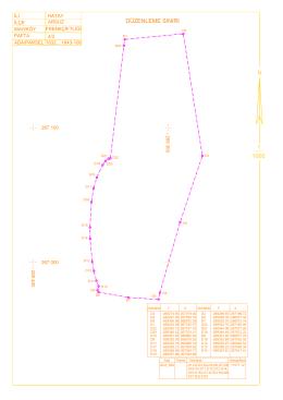 düzenleme sınırı krokisi 1832 frenkçiftliği