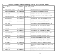 2016 yılı malatya cumhuriyet başsavcılığı uzlaştırmacı listesi