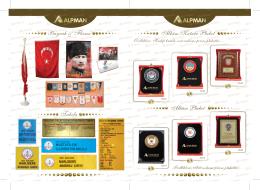 Bayrak & Flama Tabela Albüm Kutulu Plaket Albüm
