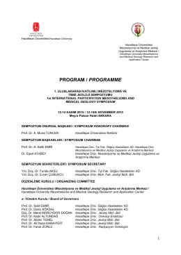 1.uluslararası katılımlı mezotelyoma ve tıbbi