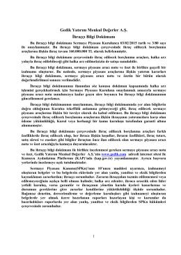 Tek Metin Haline Getirilmiş İBD 28/08/2015