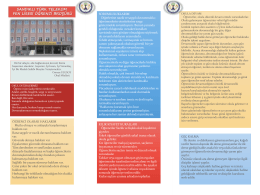 sandıklı türk telekom fen lisesi öğrenci broşürü