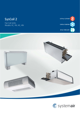 SysCoil 2 - Systemair