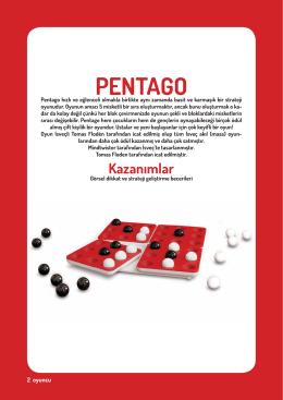 Pentago Kullanma Kılavuzu İçin Tıklayınız