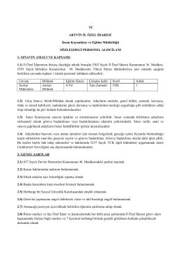 1 Adet Müracaat Formu - euygulama.dpb.gov.tr
