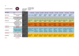 İş Sağlığı ve Güvenliği 2015 Cerrahpaşa Tıp Fakültesi Programı.