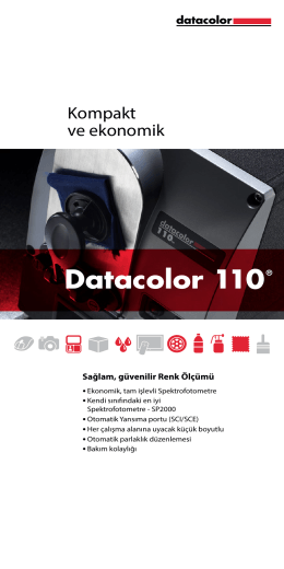 Datacolor 110® - Datacolor Industrial