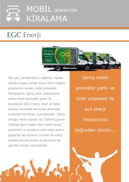 KİRALAMA - Egc Enerji