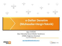 e-DENETİM