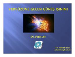 Ders 4 - Yrd.Doç.Dr.Fatih AY