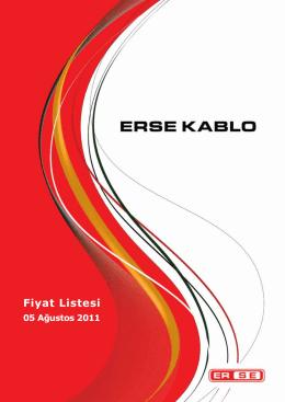 Fiyat Listesi - Radel Elektrik