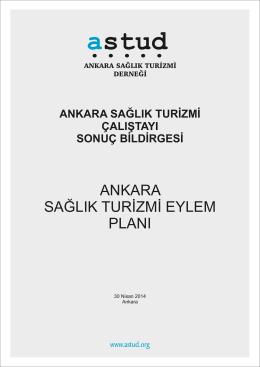 Çalıştay Raporu - Ankara Sağlık Turizmi Derneği