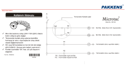 Microtac Kullanma Kılavuzu