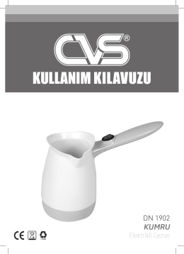 KULLANIM KILAVUZU - CVS