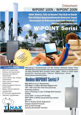 WiPOINT Serisi
