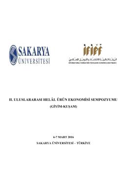 Sempozyum Programı - İlahiyat Fakültesi