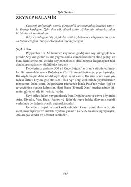 33. Zeynep Balamir