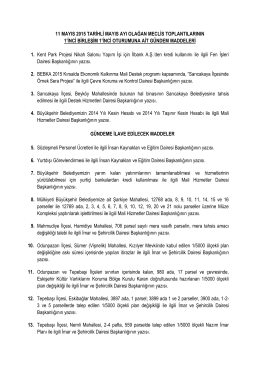 11.05.2015 - Eskişehir Büyükşehir Belediyesi