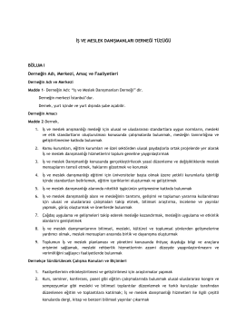 IMD-Tuzuk - Kariyer ve Yetenek Yönetimi Derneği