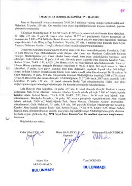2015-371 komisyon raporu