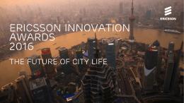 Ericsson innovation awards 2016