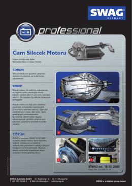 Cam Silecek Motoru