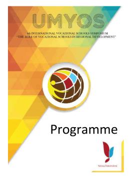 Programme - Düzce Üniversitesi Korozyon Araştırma Laboratuvarı