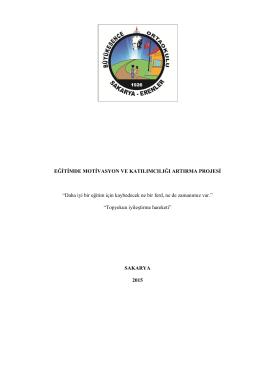 Büyükesence İlkokulu ve Ortaokulu Projesi
