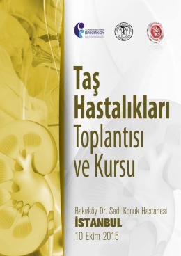 İSTANBUL - Endouroloji Derneği